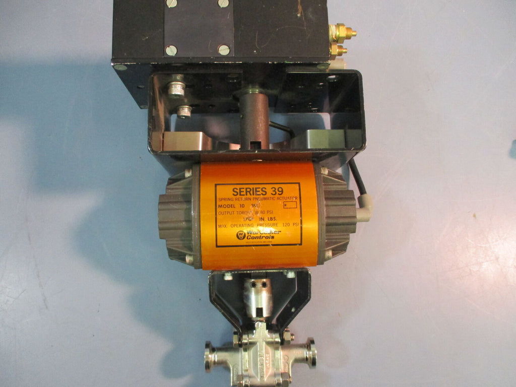 Worcester Flowserve Series 39 Double Acting + PM15 Pneumatic Positioner