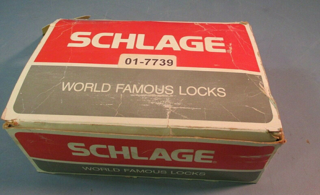Schlage Knob Lockset, Orbit, Passage Latch, Model A10S ORB 626