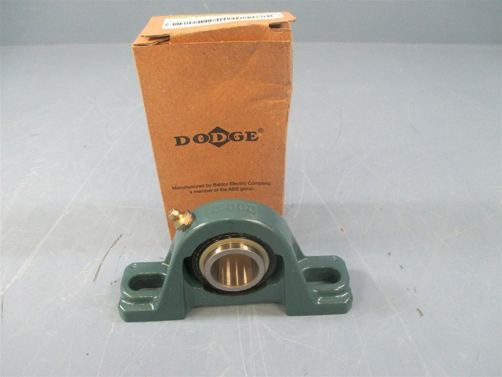 "Dodge 123806-P2B-SC-100 1"" Bore 2 Bolt Pillow Block Bearing - New"