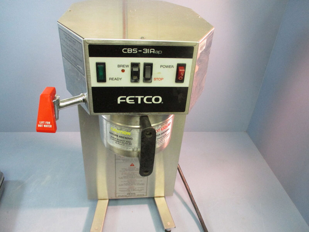 FETCO CBS-31AAP Stainless Coffee Brewer 120V Single Port Auto Coffee *PARTS*