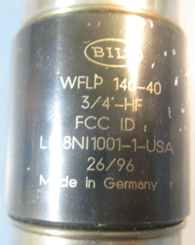 Bilz WFLP 140-40 3/4'-HF Quick Collet Tool Holder NWOB