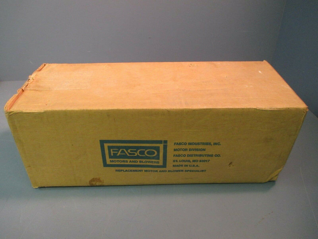 Fasco Fan Condenser Motor 3/4 HP 1075 RPM D910