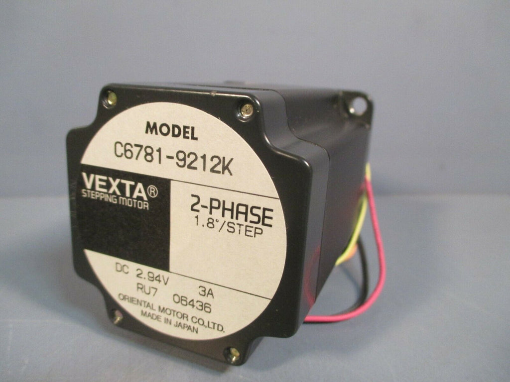 Oriental Motor Co, Ltd Vexta 2-Phase Stepping Motor C6781-9212K