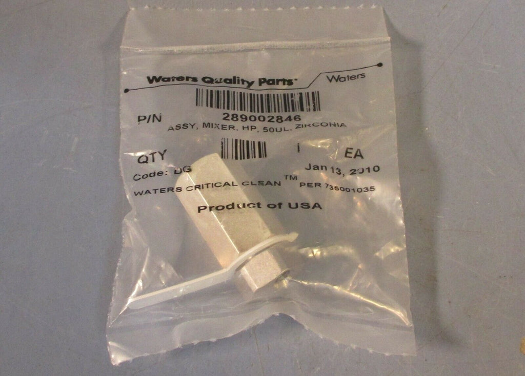 Waters Critical Clean 289002846 Mixer, HP, 50uL, Zirconia Code DG Sealed