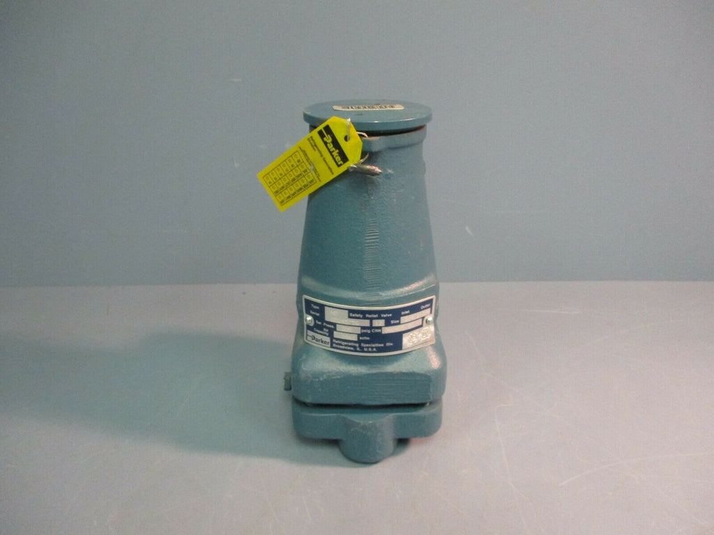 "Parker Safety Relief Valve H3 300PSIG 3/4"" Inlet 1-14"" Outlet NEW"