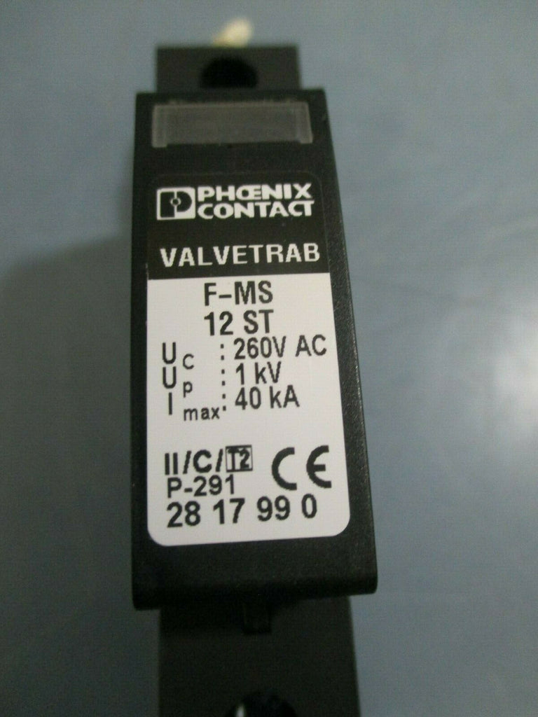 PHOENIX CONTACT VALVETRAB SURGE PROTECTION 2817990 F-MS 12 ST
