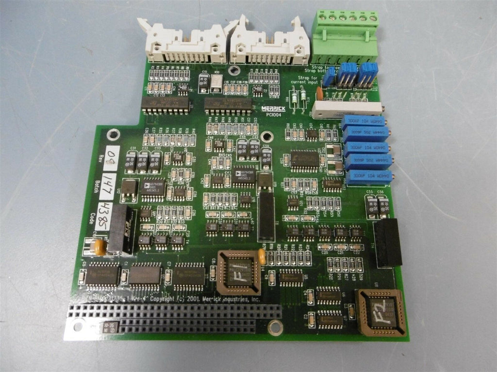 Merrick BMKM21735 PC1004 Version 4 PC Board Circuit Board