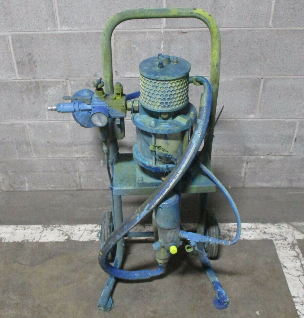 Wiwa 11032 Phoenix 32:1 Industrial Airless Pump Spray Package with Cart