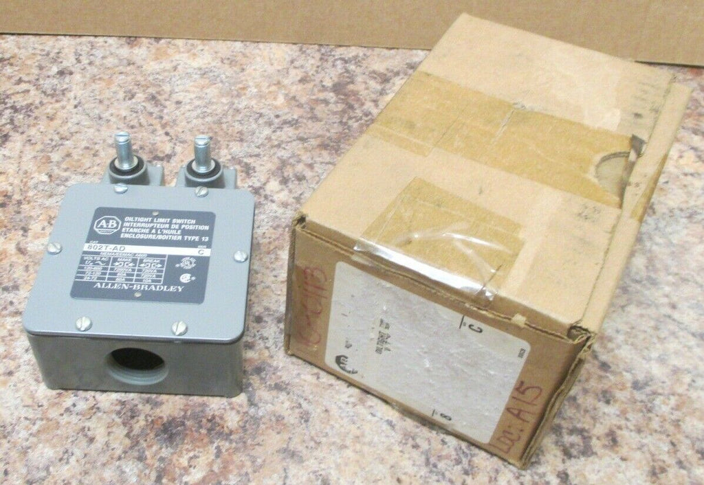 Allen Bradley 802T-AD Oiltight Double Limit Switch Series C New