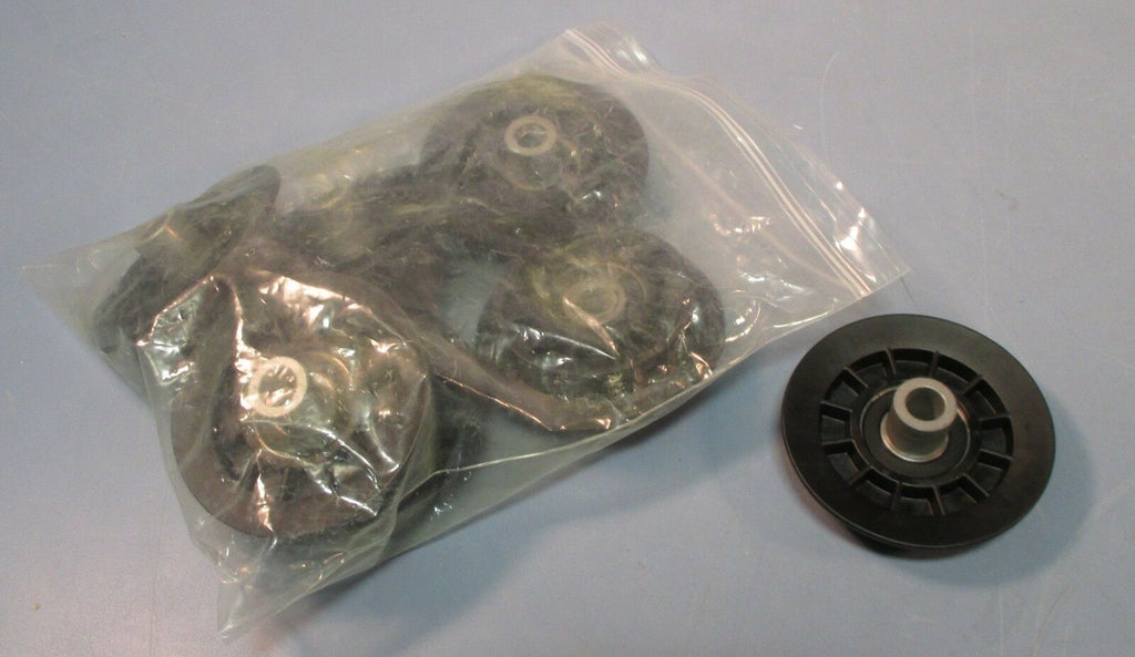 "(7) Idler Pulley Sheave Single Sided V 2-13/16"" Inner OD 3-5/8""OD 1/2"" Bore NWOB"