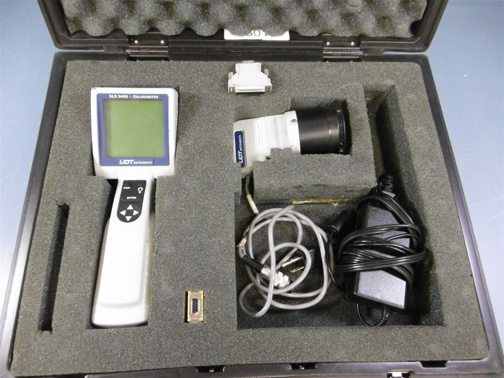 UDT Instruments SLS 9400 Colorimeter w/ Sensor & Cables W/O Attachment
