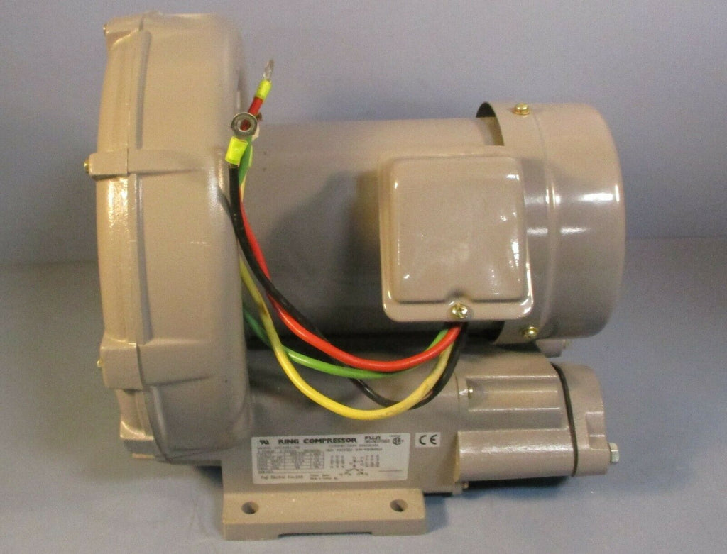 Fuji VFC409A-7W Ring Compressor Regenerative Blower 1 HP, 3 Ph 200-230/460 Volt