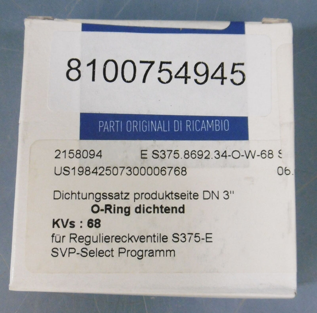 *NIB* Pentair Suedmo Seal Kit Regulating Valve Select: 2156752, DN65/2,5""