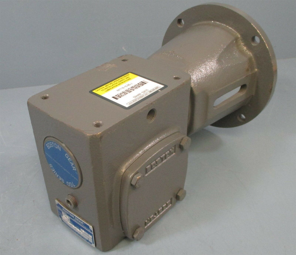 Boston Gear RF718-15-B5-J Gear Reducer 15:1 Ratio 1.13 Input HP, 552 IN-Lb New