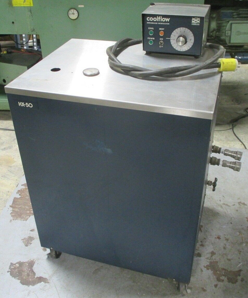 Neslab HX-50 Refrigerated Recirculator Chiller Coolflow Unit Used