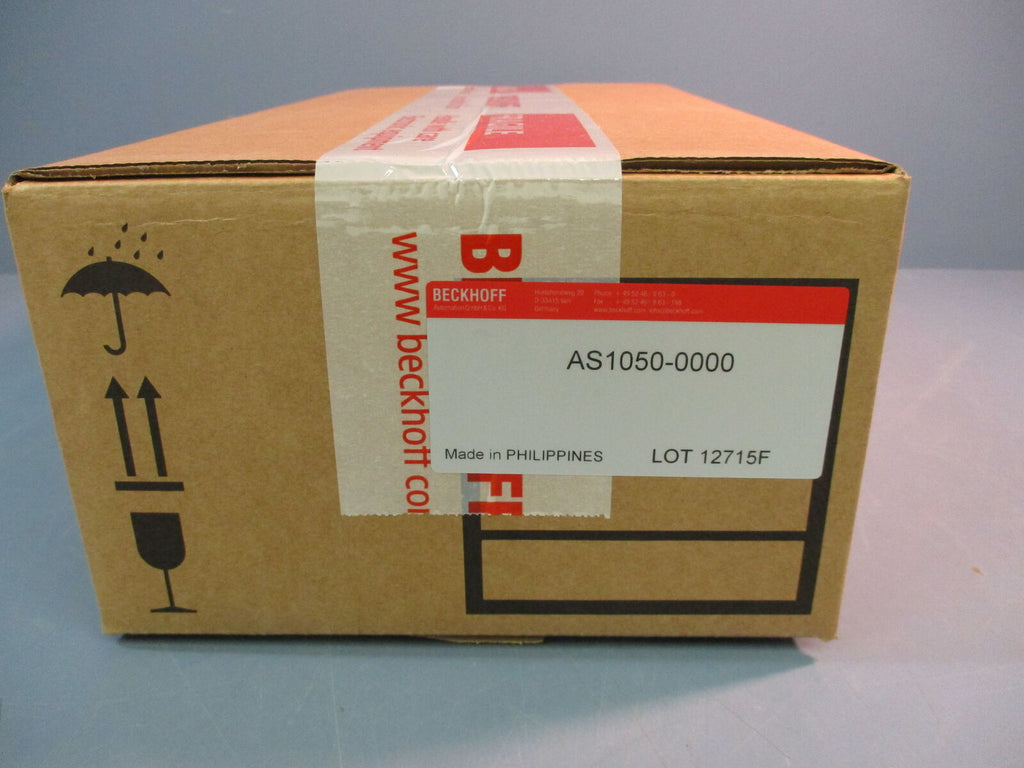 Sealed Beckoff AS1050-0000 Stepper Motor Multiphase 1.20Nm 5.0A 24/50VDC