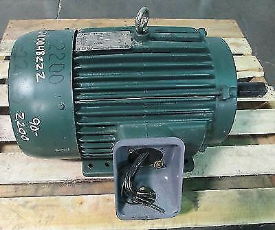 Toshiba EQP III 3 Phase 20 HP Induction Motor Fr 256T Type TKKH 3530 RPM Refurb