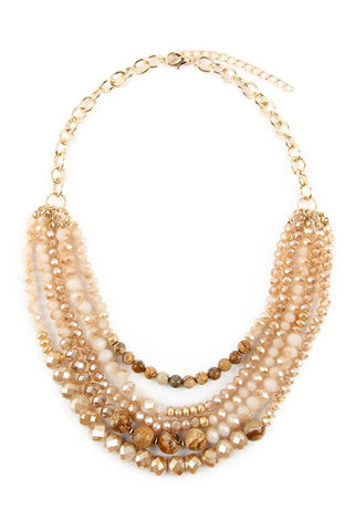 The Amanda Mixed Bead Necklace