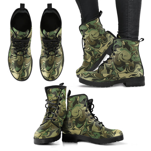 Camouflage 1 Handcrafted Boots - Jabrichank.com