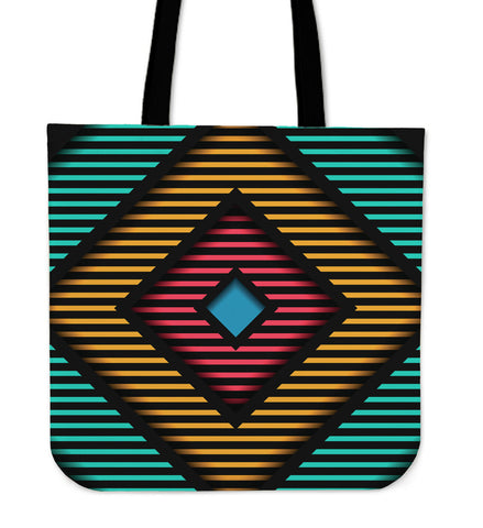 In The Middle Of Retro Cloth Tote Bag - Jabrichank.com