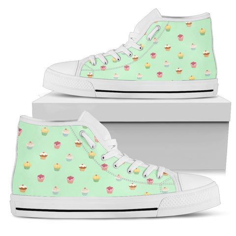 Cupcake Dream Women's High Top - Jabrichank.com