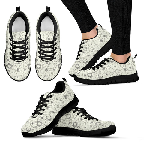 Sun and moon women's sneakers - Jabrichank.com
