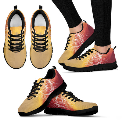 Womens Aztec Sun and Moon Sneakers - Jabrichank.com