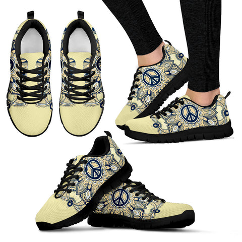 Womens Peace and Henna Sneakers - Jabrichank.com