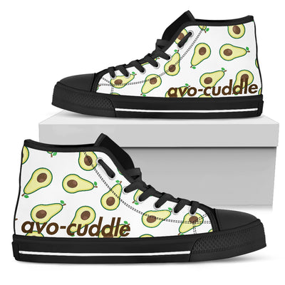 AVO-CUDDLE Women's High Top Black Sole - Jabrichank.com