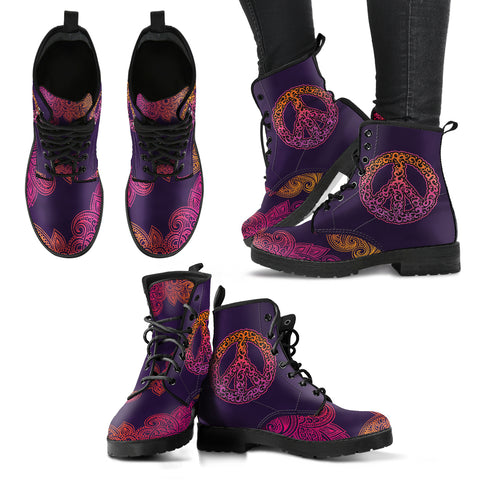 Peace Handcrafted Boots - Jabrichank.com