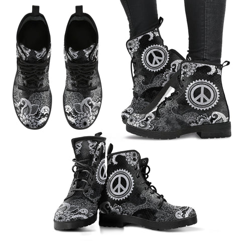 Peace & Flowers Handcrafted Boots V3 - Jabrichank.com