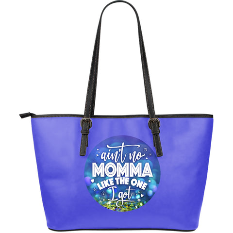 NP Aint No Mama Leather Tote Bag - Jabrichank.com