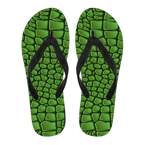 In Love With Crocodile Women's Flip Flops - Jabrichank.com