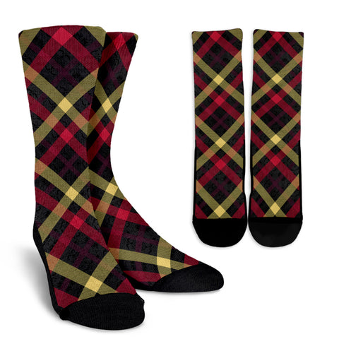Exclusive Tartan Crew Socks - Jabrichank.com