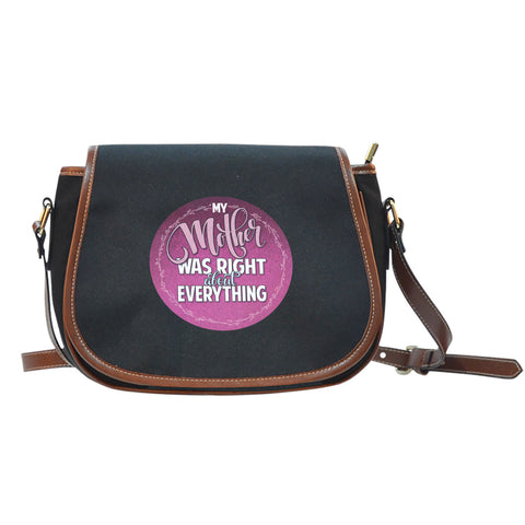NP My Mother Was Right Saddle Bag - Jabrichank.com