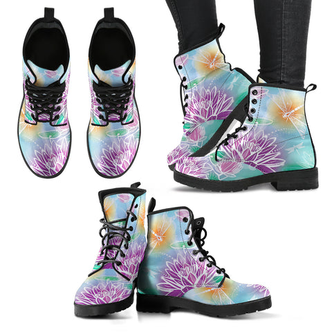 Dragonfly Lotus 2 Handcrafted Boots - Jabrichank.com