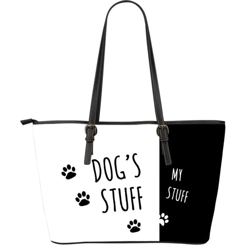 Dog's Stuff | My Stuff Leather Tote - Jabrichank.com