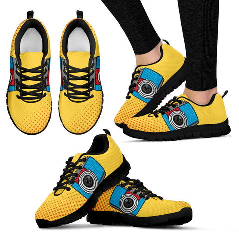 Camera women's sneakers - Jabrichank.com