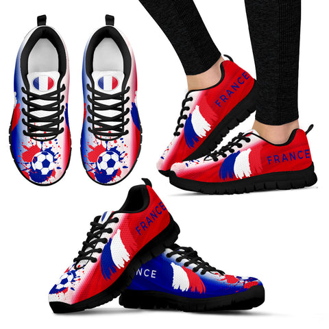 Women's France World Cup Sneakers - Jabrichank.com