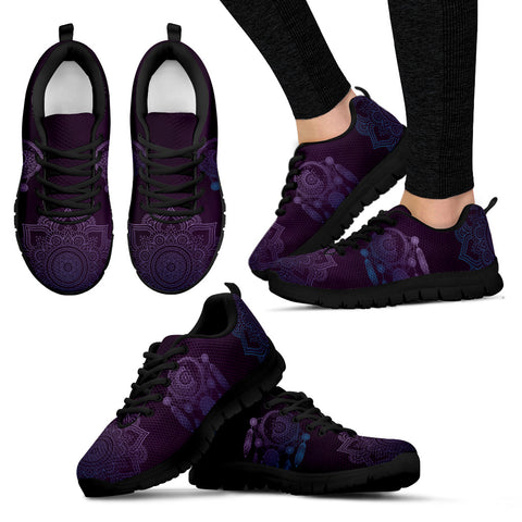 Purple with native and mandala black sole - Jabrichank.com