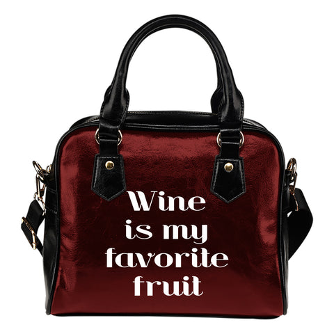 NP Favorite Fruit Leather Shoulder Handbag - Jabrichank.com