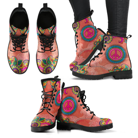 Peace & Flowers Handcrafted Boots V2 - Jabrichank.com