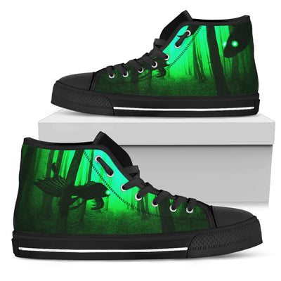 Ruddy Mysterious (GREEN) High Tops [Women's] - Jabrichank.com