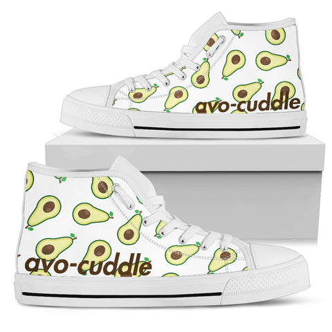 AVO-CUDDLE Women's High Top White Sole - Jabrichank.com