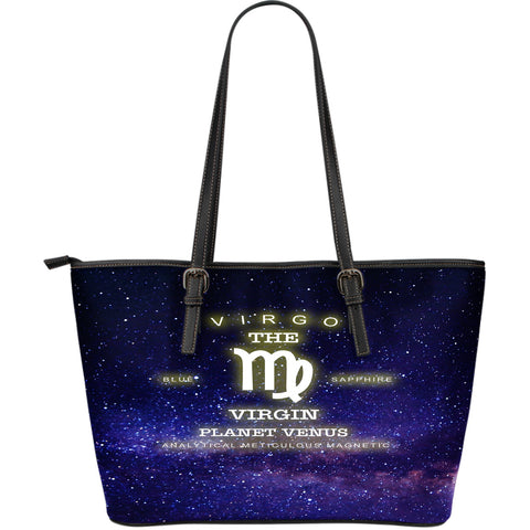 NP Zodiac Virgo Leather Tote Bg - Jabrichank.com
