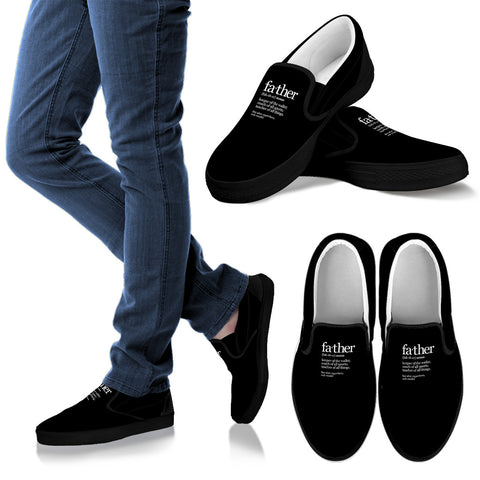 NP Father Noun Slip On Shoes - Jabrichank.com