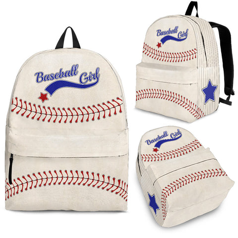 Backpack - Baseball Girl - Jabrichank.com