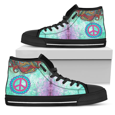 Peace and turquoise Black Sole - Jabrichank.com