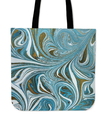 Blue Marble Dream Cloth Tote Bag - Jabrichank.com