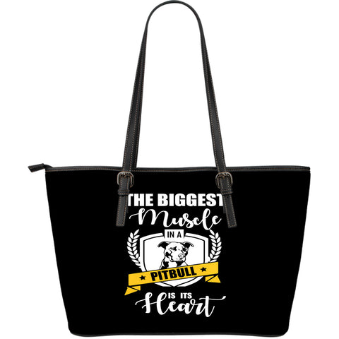 NP Pitbull Leather Tote Bag - Jabrichank.com